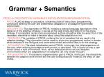 grammar semantics