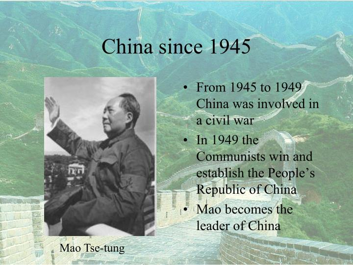 a history of how the nationalists won over the communists and established the republic of china China betrayed into communism author of the pro-communist book red star over china  the nation, the new republic and the saturday review of literature.