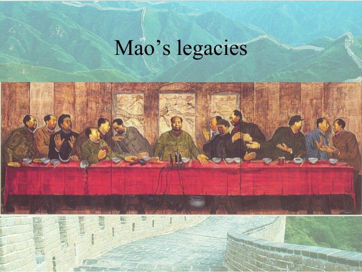 Mao's legacies
