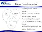 private firms cooperation