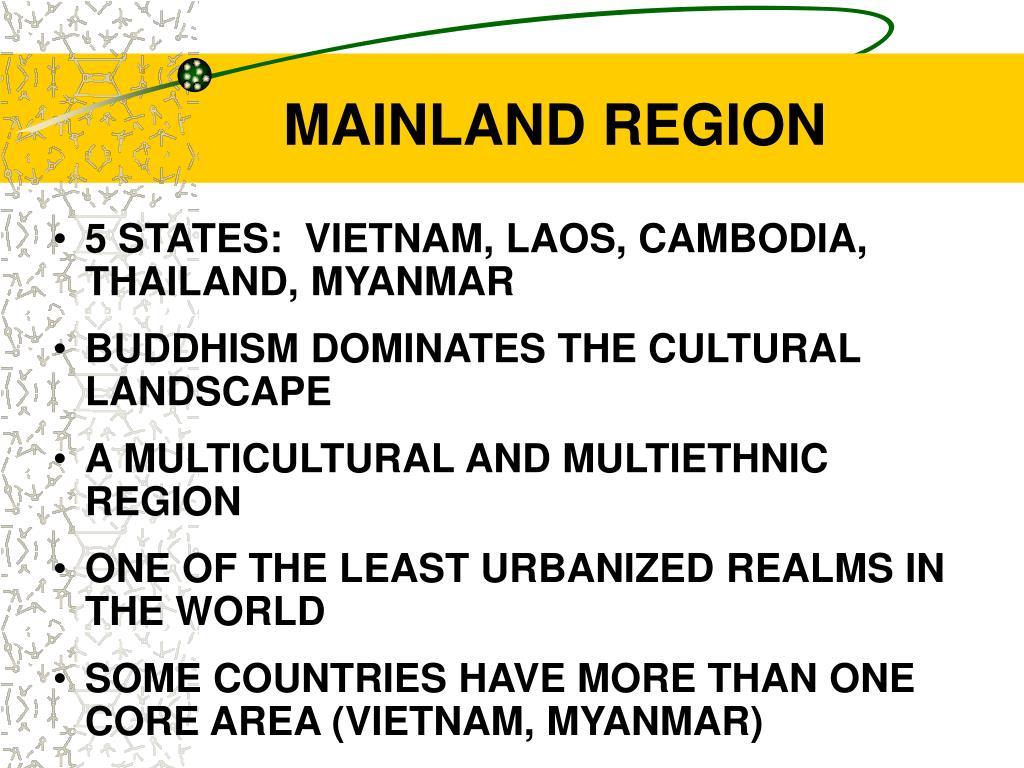 MAINLAND REGION