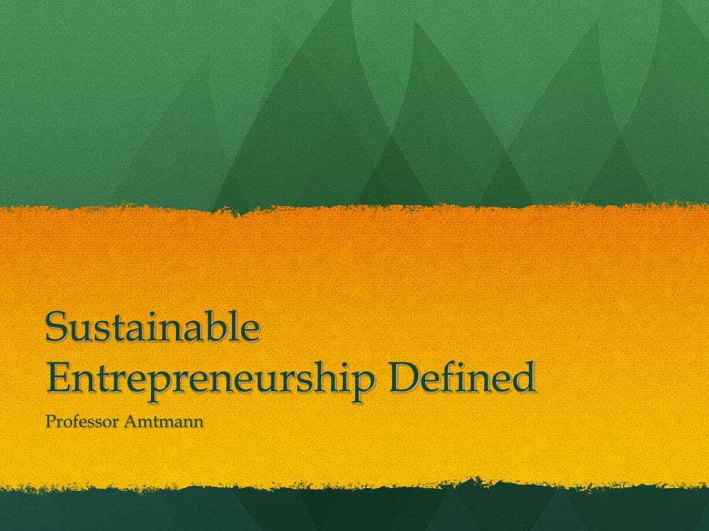 Business plan ppt in entrepreneurship businessn proposal.