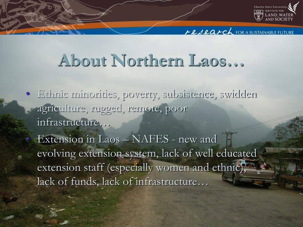 About Northern Laos…