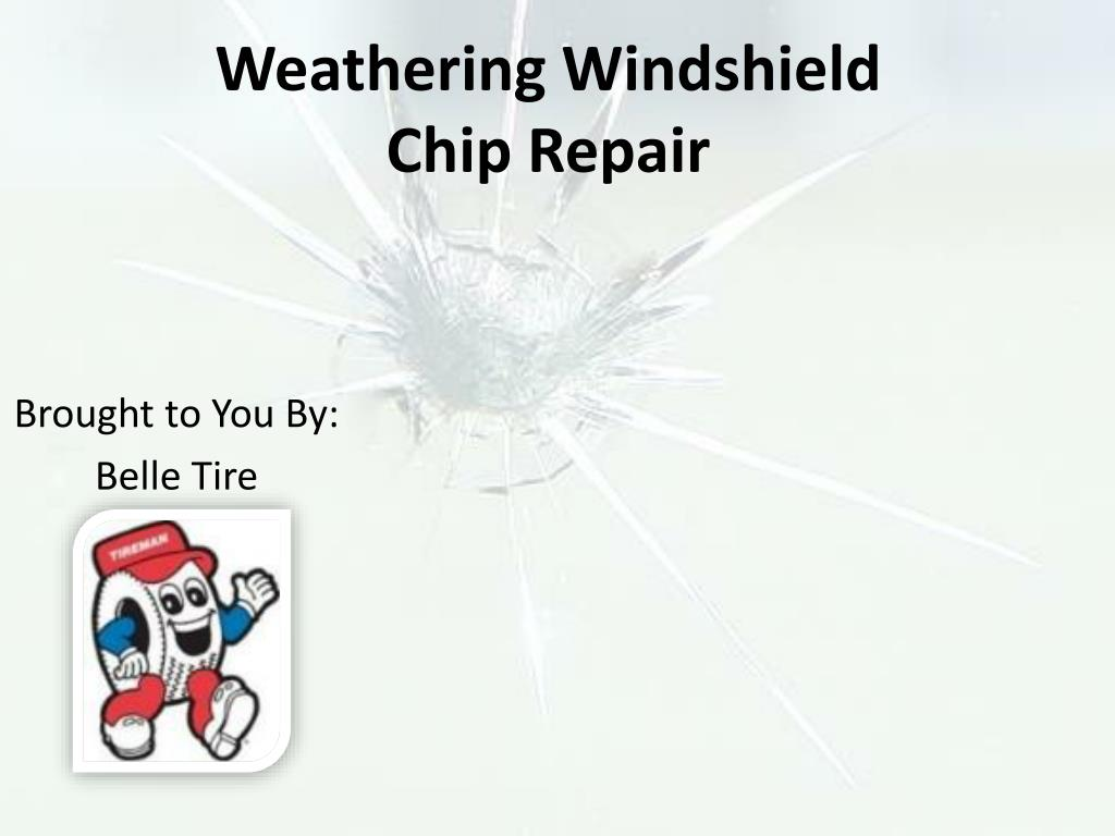 weathering windshield chip repair l.