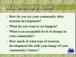 ii 1 develop a vision
