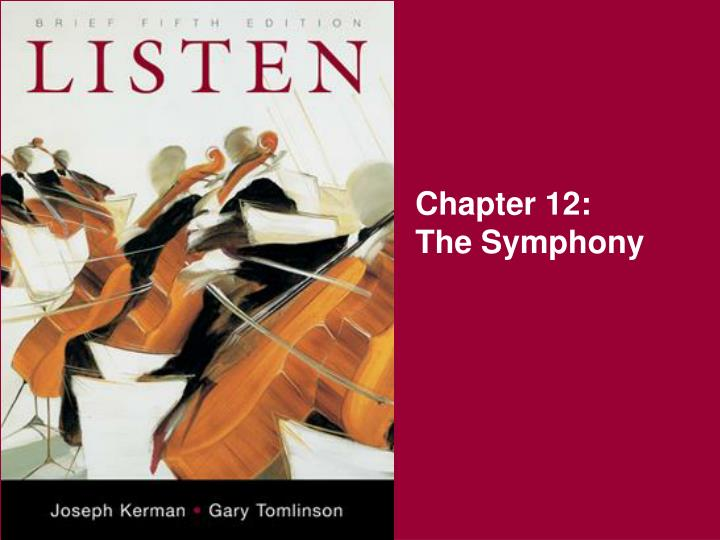 chapter 12 the symphony n.