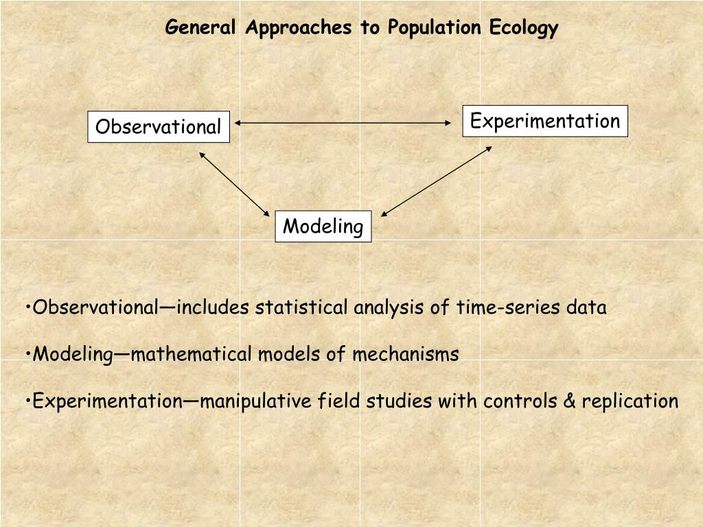 General Approaches to Population Ecology