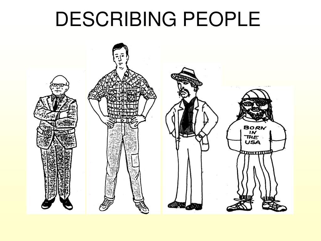 describing people pictures