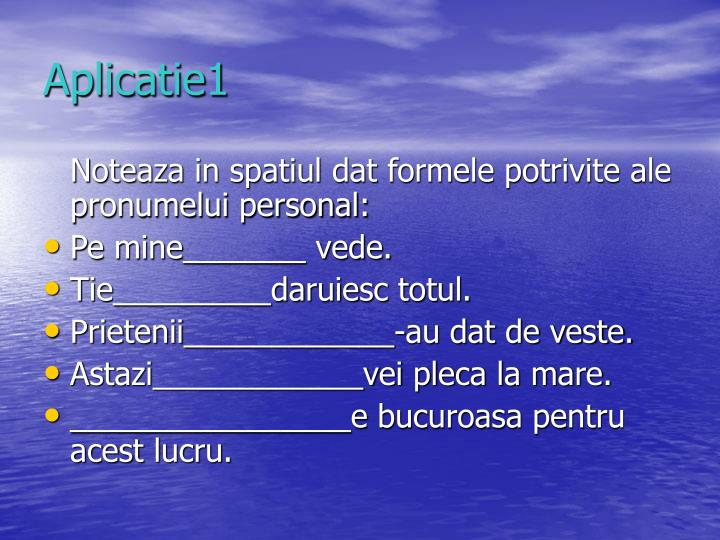 Aplicatie1