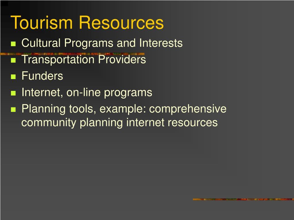 Cultural Programs and Interests