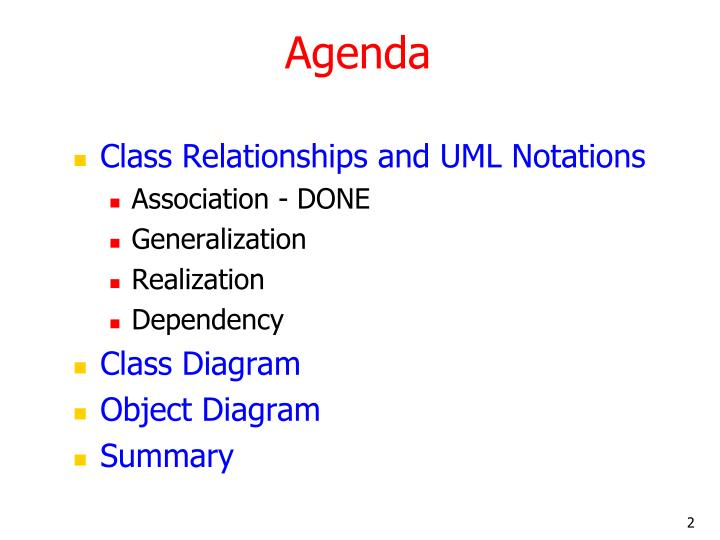 Ppt Uml And Classes Objects And Relationships 2 Powerpoint