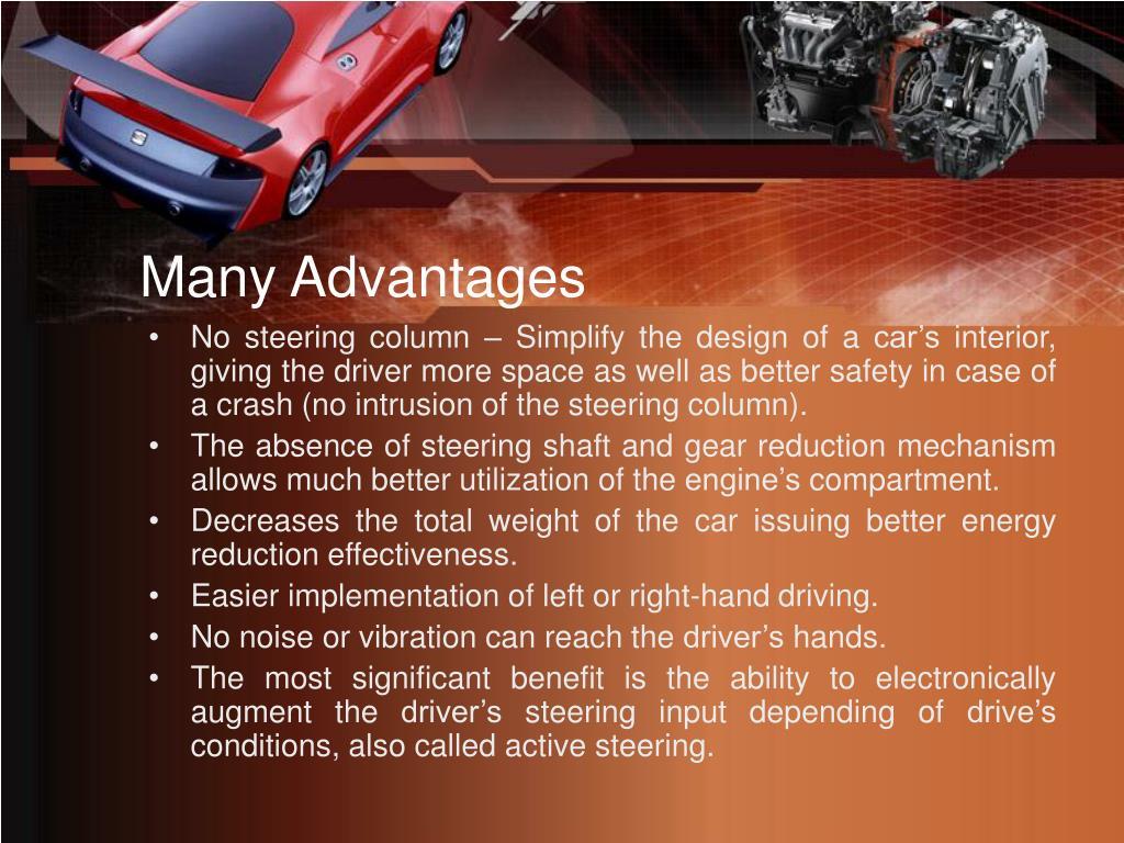 Many Advantages