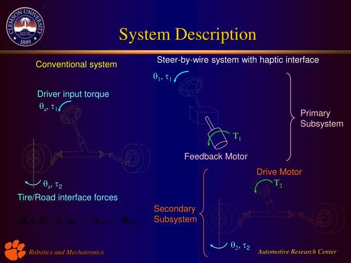 Automotive research center robotics and mechatronics
