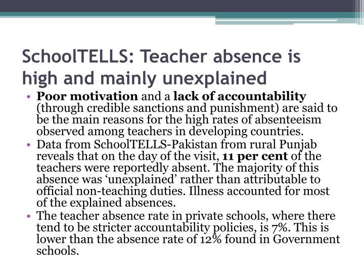 SchoolTELLS