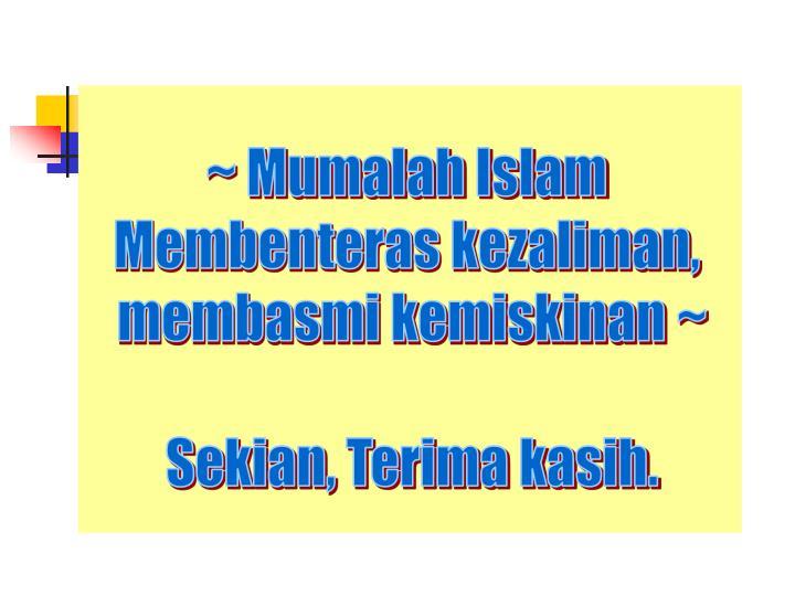 ~ Mumalah Islam