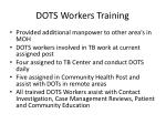 dots workers training