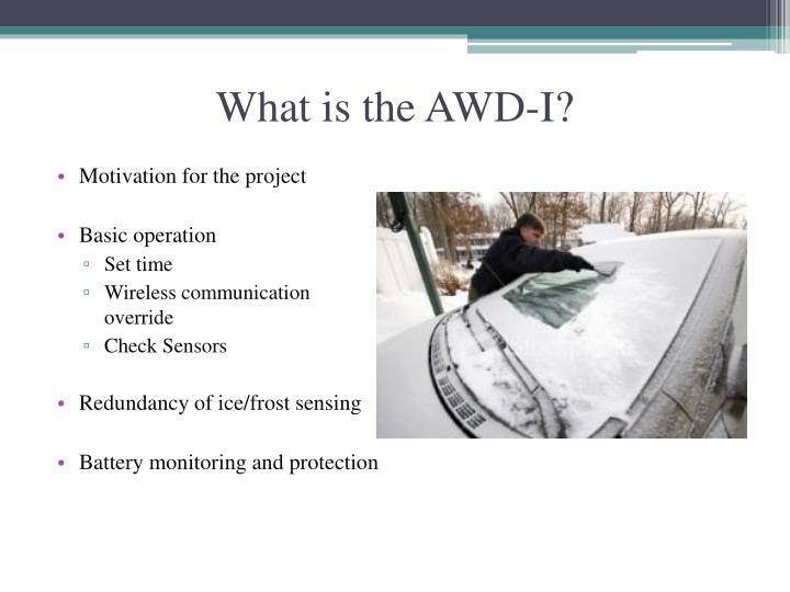 What is the awd i