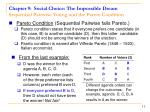chapter 9 social choice the impossible dream sequential pairwise voting and the pareto condition11