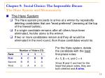 chapter 9 social choice the impossible dream the hare system and monotonicity