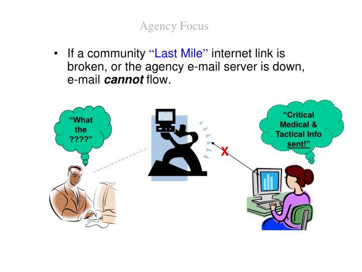 Agency Focus
