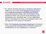 developing facebook applications tips for owners designers4
