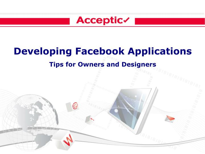 Developing Facebook Applications