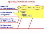 upcoming iter related activities2