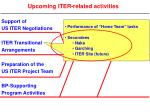 upcoming iter related activities3