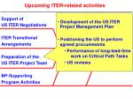 upcoming iter related activities4