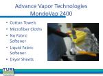 advance vapor technologies mondovap 2400