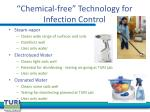chemical free technology for infection control1