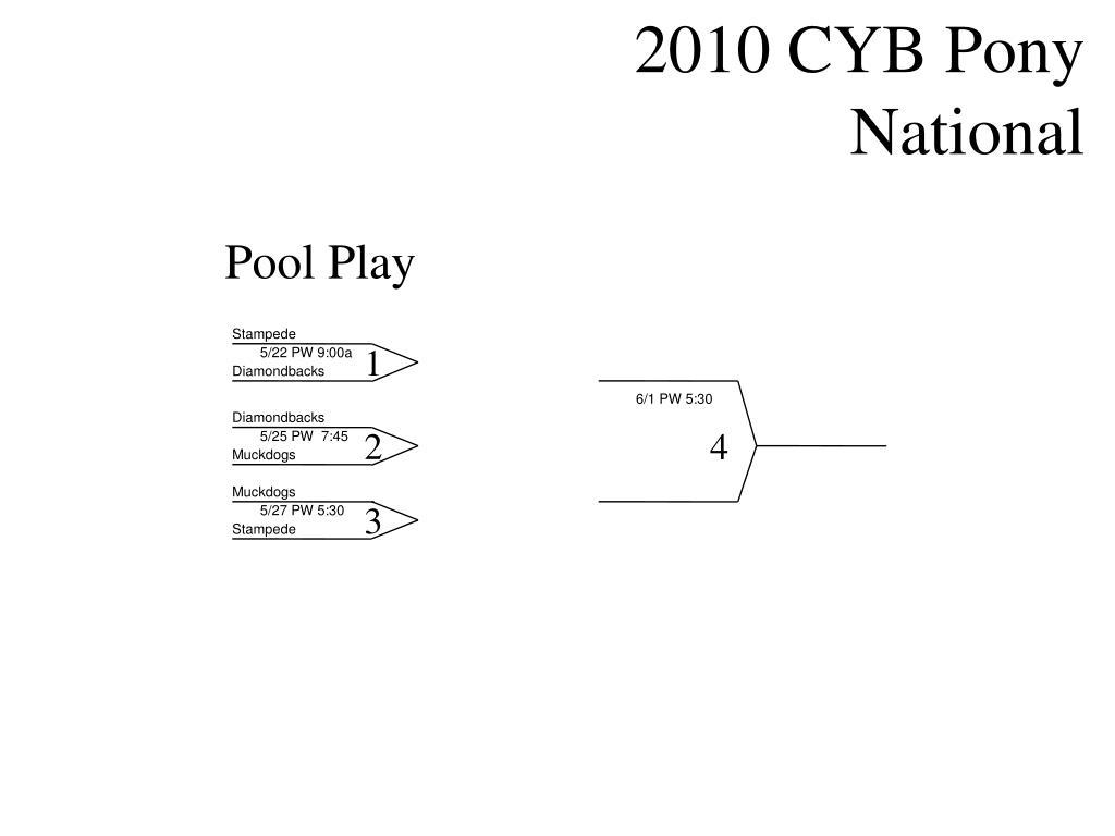 2010 CYB Pony National