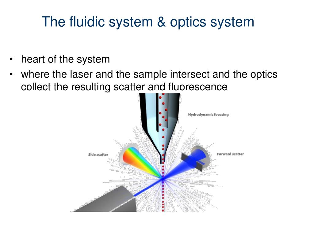 The fluidic system & optics system