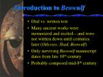 introduction to beowulf1