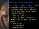 metonymy and synecdoche