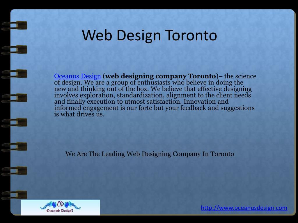 web design toronto l.