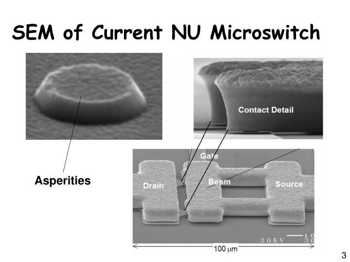 Sem of current nu microswitch