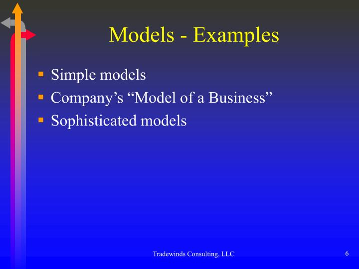 Models - Examples