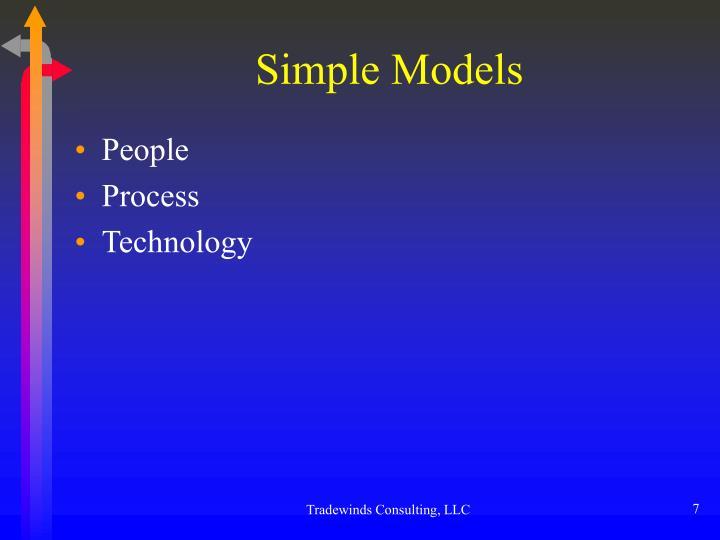 Simple Models