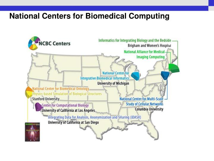 National centers for biomedical computing