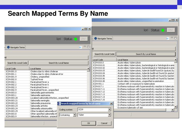Search Mapped Terms By Name