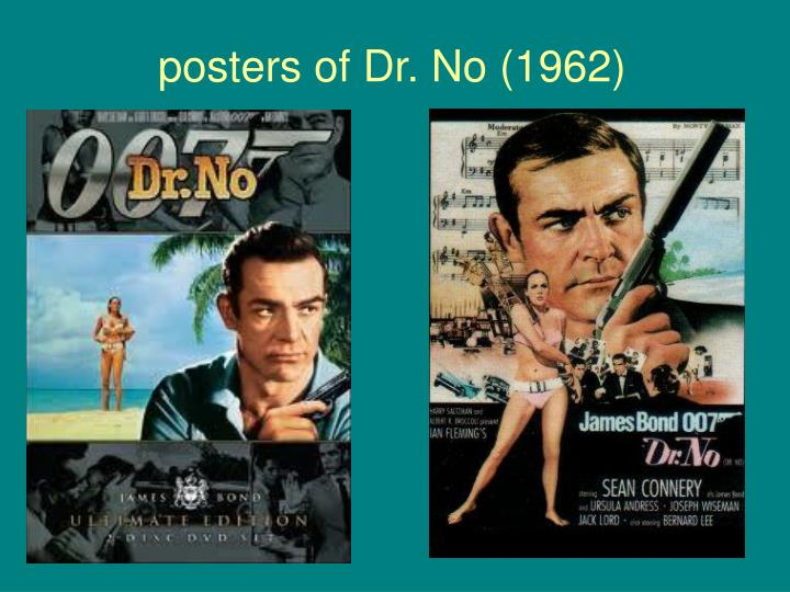 posters of Dr. No (1962)