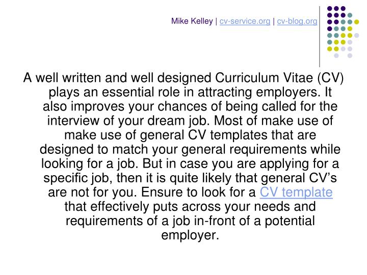 Mike kelley cv service org cv blog org