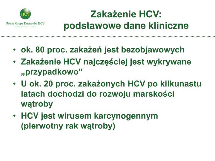 Zakażenie HCV: