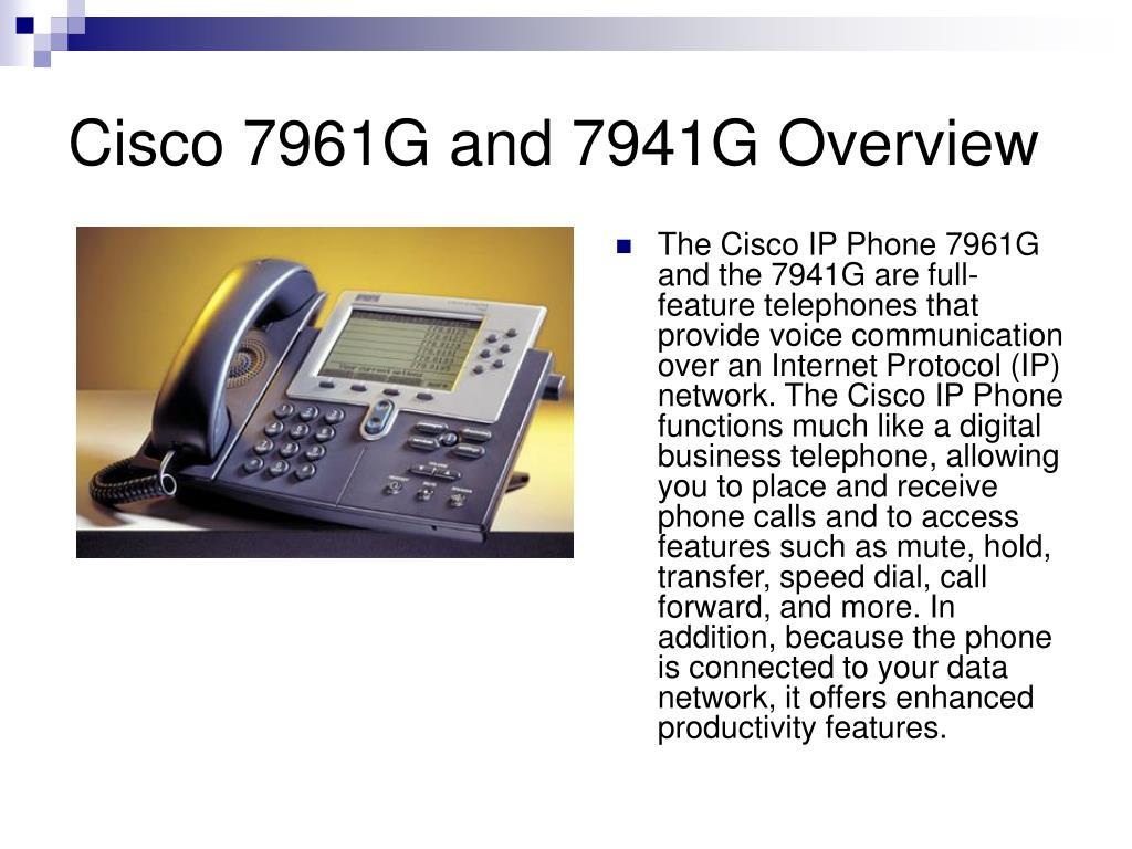 PPT - Cisco IP Phone PowerPoint Presentation - ID:1134968