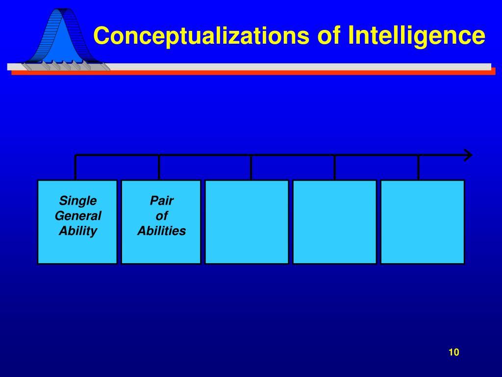 Conceptualizations