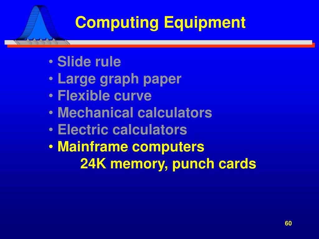 Computing Equipment