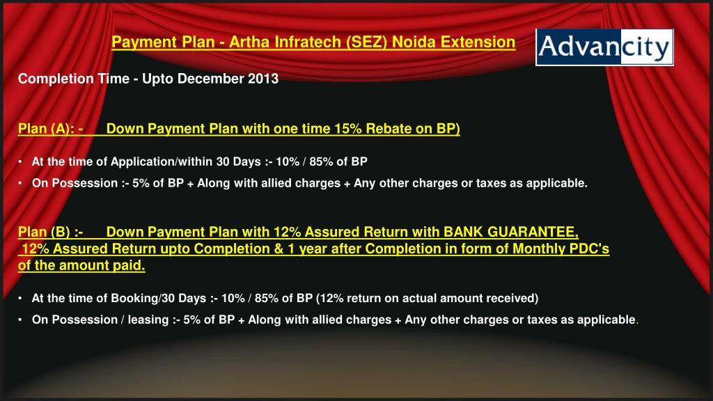 Payment Plan -