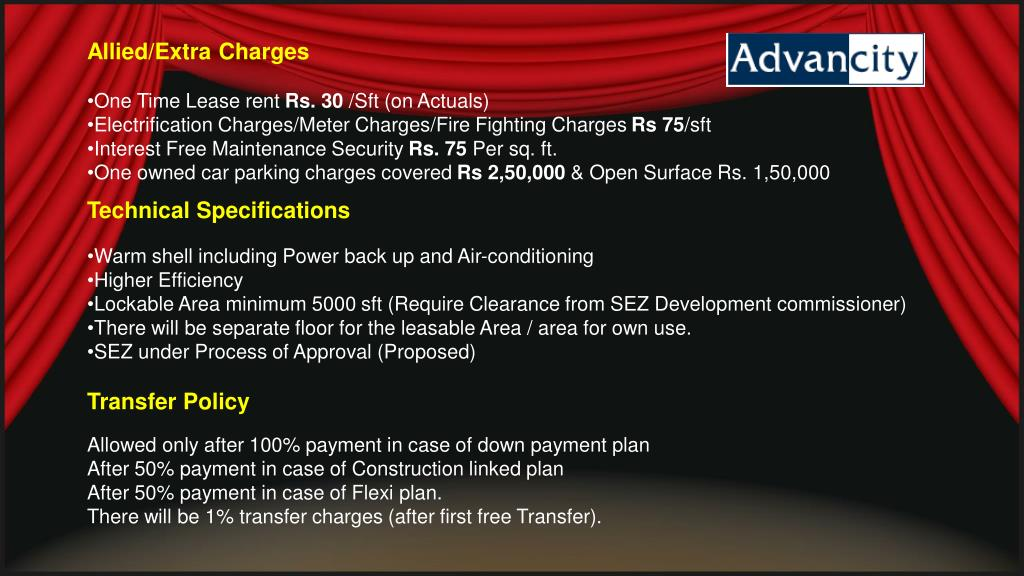 Allied/Extra Charges