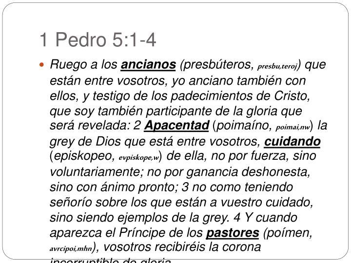 1 Pedro 5:1-4